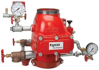 Контролно сигнален клапан Вода / Вода