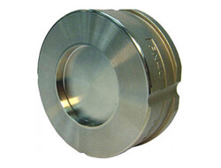 дискова неръждаема клапа